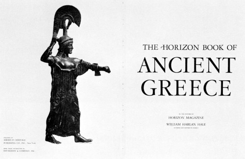 The Horizon Book of Ancient Greece