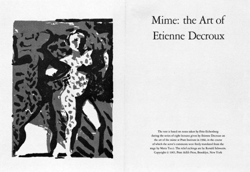 Mime:  The Art of Etienne Decroux