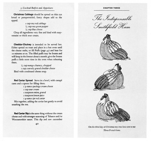 The Twelve Days of Christmas Cookbook