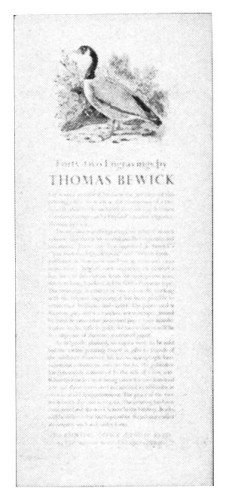 Forty-two Engravings by Thomas Bewick