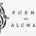 Poems of Alcman, Sappho, Ibycus