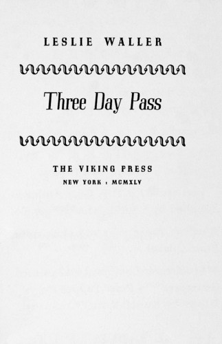 Three Day Pass