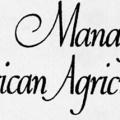 USDA Manager of American Agriculture