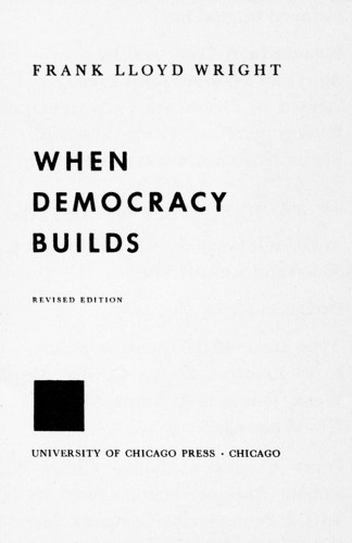 When Democracy Builds