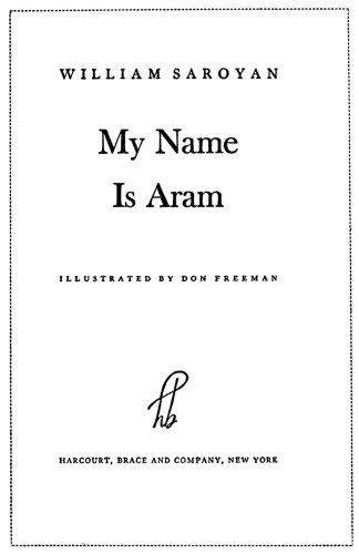 My Name is Aram