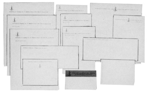 Doubleday & Company, Inc., stationery