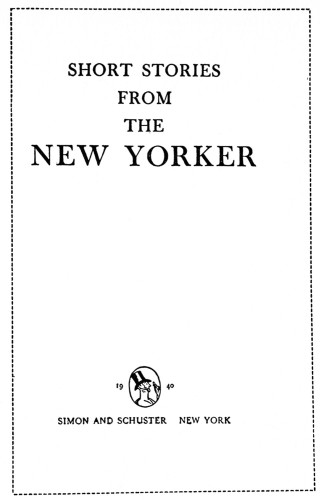Short Stories from the New Yorker