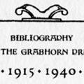 Bibliography of the Grabhorn Press, 1915–1940