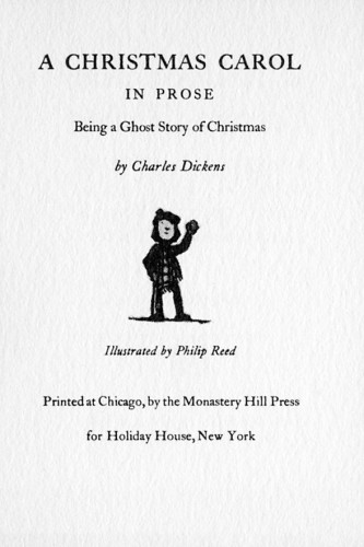 A Christmas Carol in Prose, being a Ghost Story of Christmas
