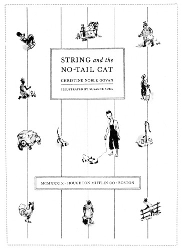 String and the No-Tail Cat