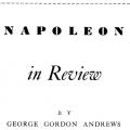 Napoleon in Review