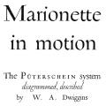 Marionette in Motion, The Püterschein system diagrammed