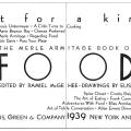 Fit for a King, The Merle Armitage Book of Food