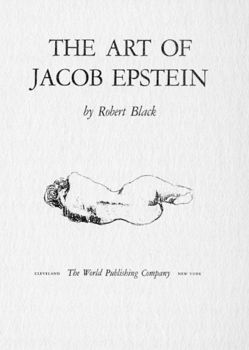 The Art of Jacob Epstein