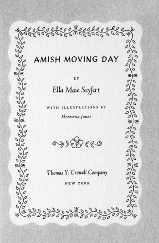 Amish Moving Day
