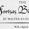 The Fortsas Bibliohoax, With a Reprint of the Fortsas Catalogue