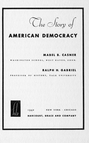 The Story of American Democracy