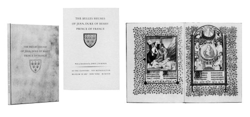 The Bellies Heures of Jean, Duke of Berry, Prince of France