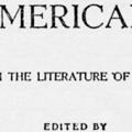 The American Mind, Selections from the Literature of the United States