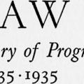 Law, A Century of Progress, 1835–1935, Contributions in celebration of the 100th Anniversary of the founding of the School of Law of New York University