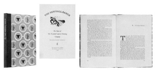 The Newhall Ranch: The Story of The Newhall Land & Farming Company