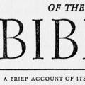 Biography of the Bible, A Brief Account of its character, authorship, text, translation and influence on the evolution of mankind