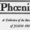 Phoenixiana, A Collection of the Burlesques & Sketches of John Phoenix, alias John P. Squibob, who was, in fact, Lieutenant George H. Derby, U.S.A.