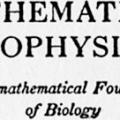 Mathematical Biophysics