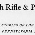 With Rifle & Plow, Stories of the Western Pennsylvania Frontier