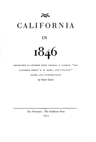 California in 1846