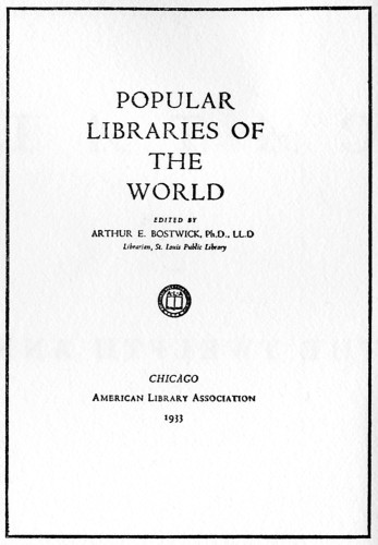Popular Libraries of the World