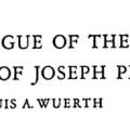 Catalogue of the Lithographs of Joseph Pennell