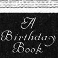 A Birthday Book
