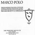 The Travels of Marco Polo, The Marsden Translation Revised and Edited with an Introduction