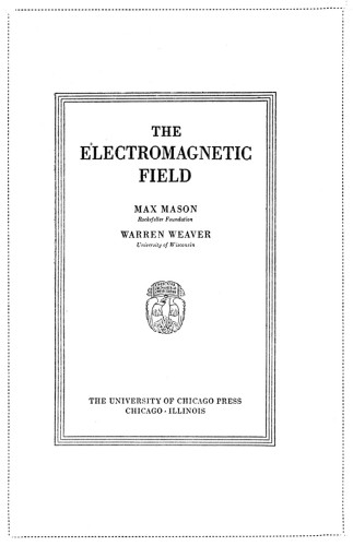 The Electromagnetic Field