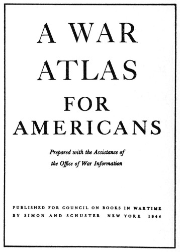 A War Atlas for Americans