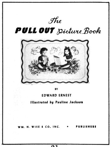 The Pull-Out Picture Book