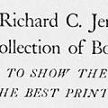 Richard C. Jenkinson Collection of Books