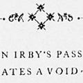 John Irby's Passing Creates a Void