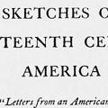 Sketches of Eighteenth Century America