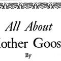 All About Mother Goose