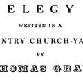 An Elegy Written in a Country Church-Yard