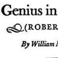Genius in Homespun (Robert Burns)