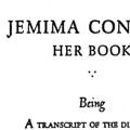 Jemima Condict: Her Book, Being a transcript of the diary of an Essex County maid during the Revolutionary War