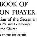 Standard Book of Common Prayer (Revision of 1928)