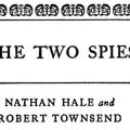 The Two Spies: Nathan Hale and Robert Townsend