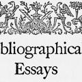 Bibliographical Essays: A Tribute to Wilberforce Eames