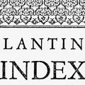 Plantin's Index Characterum of 1567