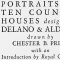 Portraits of Ten Country Houses