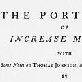 The Portraits of Increase Mather, with Some Notes on Thomas Johnson, an English Meszzotinter